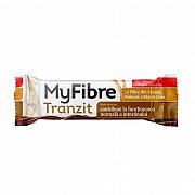 imageMyFibre Tranzit baton digestiv, cu fibre din secara, cocos si portocale, acoperit cu ciocolata cu lapte, fara zaharuri adaugate, cu indulcitori, 40g